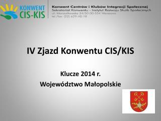 IV Zjazd Konwentu CIS/KIS