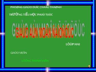PHO�NG GIA�O DU�C CHA�U THA�NH