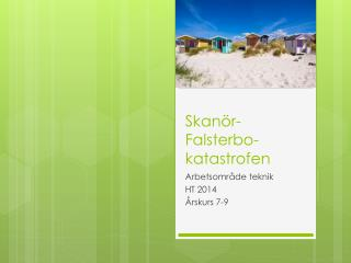 Skanör-Falsterbo-katastrofen