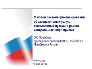 Звенигород 18 мая   2012 г.