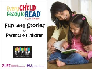 Fun  with  Stories for  Parents & Children