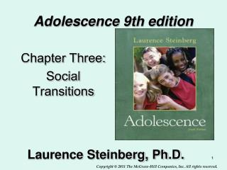 Adolescence 9th edition