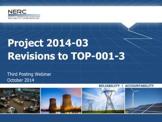 Project 2014-03 Revisions to TOP-001-3