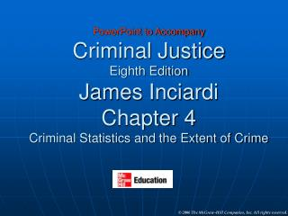 Major Sources of Crime Statistics