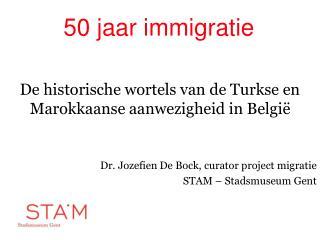 50 jaar immigratie