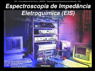 Espectroscopia de Impedância Eletroquímica (EIS)