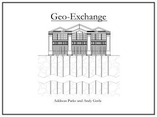 Geo-Exchange