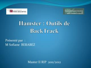 Hamster�: Outils de  BackTrack