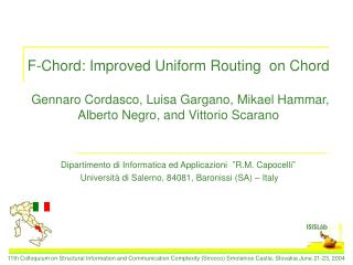 F-Chord: Improved Uniform Routing  on Chord