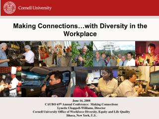 Making Connections�with Diversity in the Workplace