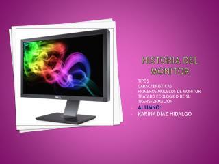 Historia del monitor