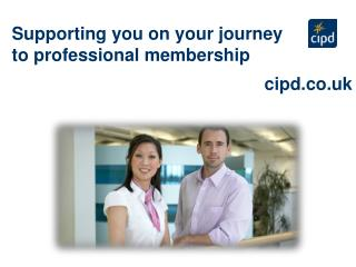 Supporting you on your journey to professional membership