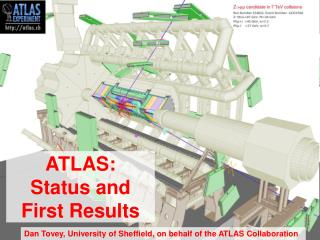 ATLAS:  Status and First Results