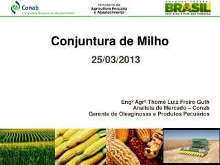 Conjuntura de Milho