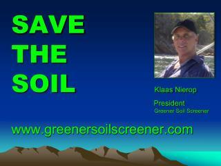 RESCREEN REUSE RESELL greenersoilscreener