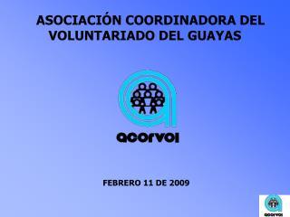 ASOCIACIÓN COORDINADORA DEL VOLUNTARIADO DEL GUAYAS