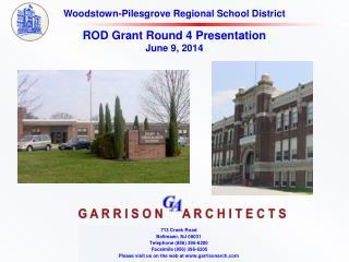 ROD Grant Round 4  Presentation June 9, 2014