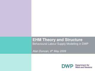 EHM Theory and Structure