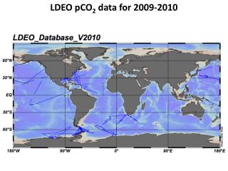 LDEO  pCO 2  data for 2009-2010