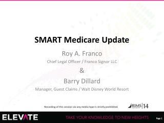 SMART Medicare Update