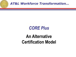 AT&L Workforce Transformation…
