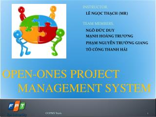 OPEN-ONES PROJECT MANAGEMENT SYSTEM