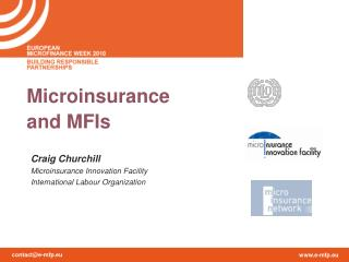 Microinsurance and MFIs