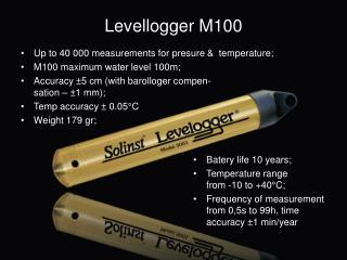 Levellogger  M100