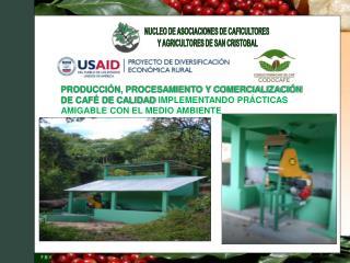 NUCLEO DE ASOCIACIONES DE CAFICULTORES  Y AGRICULTORES DE SAN CRISTOBAL