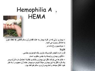 Hemophilia A , H EMA