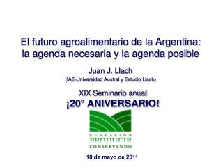 El futuro agroalimentario de la Argentina: la agenda necesaria y la agenda posible