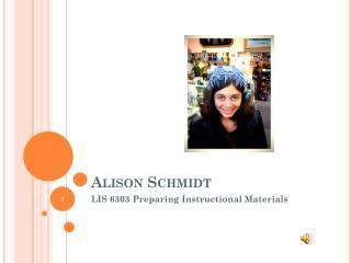 Alison Schmidt