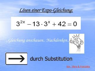 Lösen einer Expo-Gleichung: