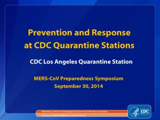CDC Los Angeles Quarantine Station