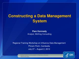 Constructing a Data Management System