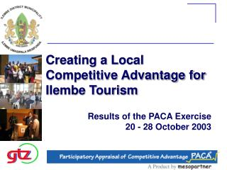 Creating a Local Competitive Advantage for Ilembe Tourism