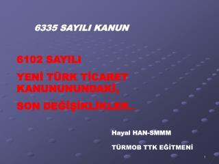 6335 SAYILI KANUN