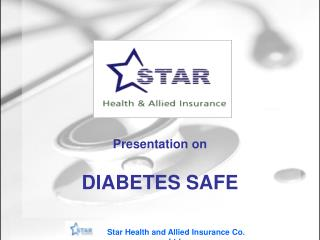 Presentation on DIABETES SAFE