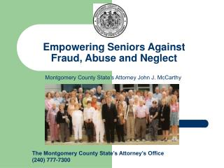 Empowering Seniors Against Fraud, Abuse and Neglect