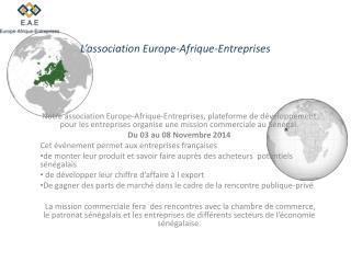 L�association Europe-Afrique-Entreprises