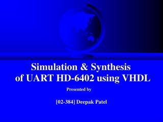 Simulation & Synthesis