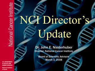 N CI Director's Update