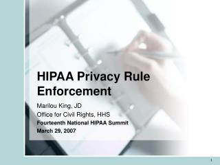 HIPAA Privacy Rule Enforcement