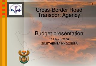 Cross-Border Road Transport Agency