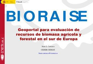 Geoportal para evaluación de recursos de biomasa agrícola y forestal en el sur de Europa