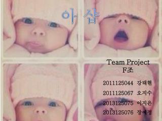 Team Project F 조