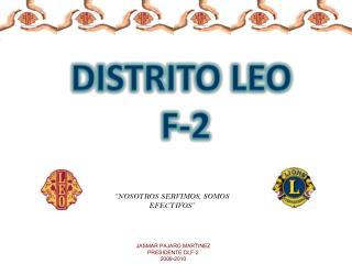 DISTRITO LEO  F-2