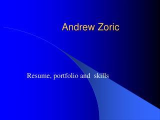 Andrew Zoric