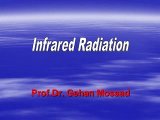 Prof.Dr .  Gehan Mosaad