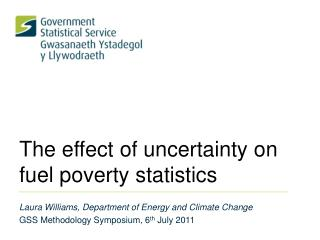 The effect of uncertainty on fuel poverty statistics